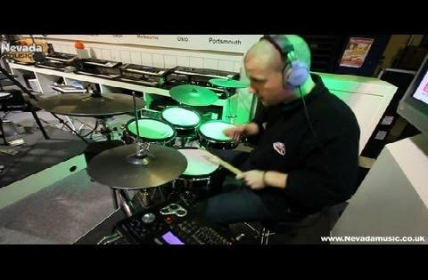 Jack Stephens Performance demo on the Roland TD-30KV - 'Bonfire' by Knife Party @ Nevada Music UK