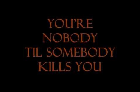The Notorious BIG - You're Nobody Till Somebody Kills You (Lyric Video)