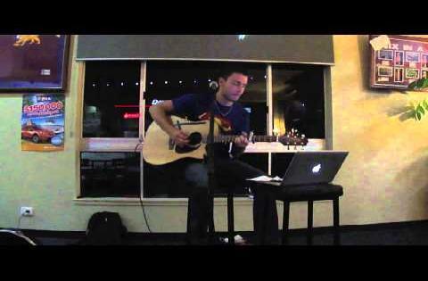 Gotye - Somebody that i used to know acoustic live in Australia by Anthony Lovison