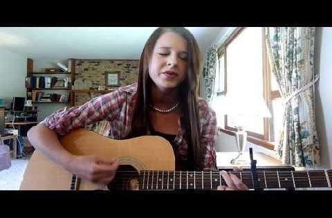 She Will Be Loved (Maroon 5) - cover by Joy Perona (: