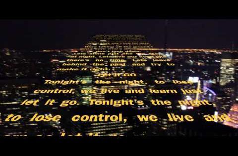 J Cruz - Let It GO Lyrics Video