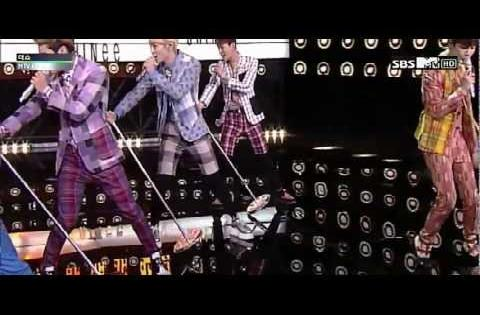 1080P SHINee~Dream Girl@130324 Mtv Music Performance HD
