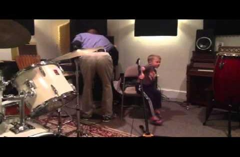 Amazing 4 year old JD showing his musical talent