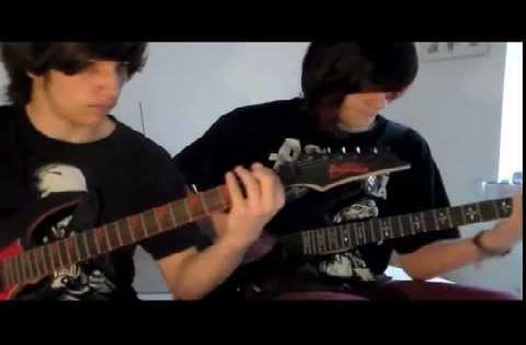 Of Human Action Dual Guitar Cover