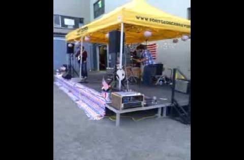 RESOLECTRIC BAND IN ASTORIA OREGON-FORT GEORGE BREWERY_4TH OF JULY 2013!!!