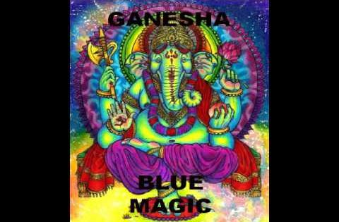 GANESHA  -BLUE MAGIC