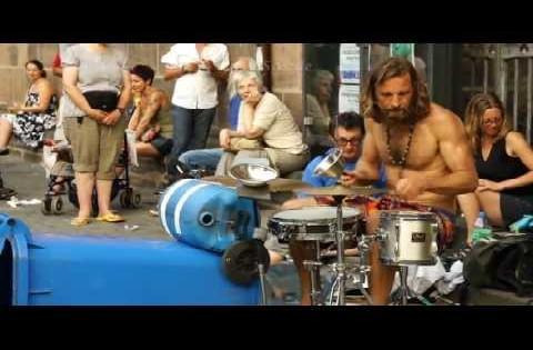Best Drummer of Street Musicians