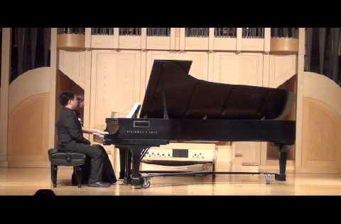 Jenny Han & Austin Jang Spanish Dance Duet by Moritz Moszkowski
