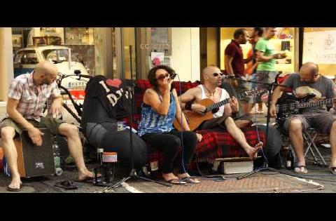 Amazing Street Music in Germany of Europe